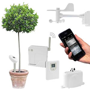 Bresser Connect, weather station for smartphones BRESSER 7020000