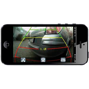DNT W-LAN Reversing Camera, view by App! DNT 52147