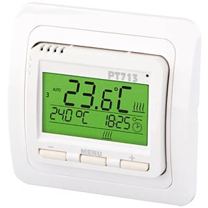 Intelligent thermostat for the floor-heating ELEKTROBOCK PT713
