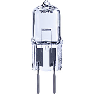 Halogen-Stiftsockellampe GY6,35, 35 W, 556 lm, 2700 K, dimmbar TELESOUND 36-20635