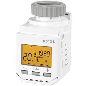 Digital thermostatic head HD13-L ELEKTROBOCK HD13L