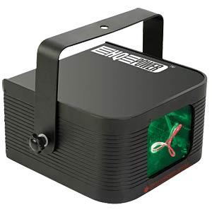 Mini-Laser-Projektor, DMX, rot-grün, 140mW HQ POWER VDP1401RGLD5