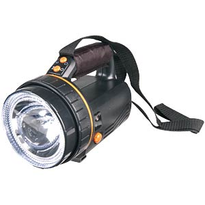 Rechargeable torch with LEDs and halogen IVT GMBH 312202