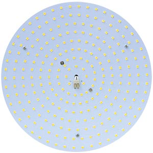 LED ceiling light fixture module 15 W Ø 142 mm, kw JAMARA 703505