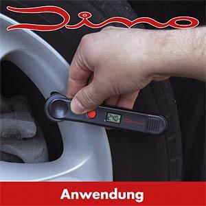 Digitaler Reifendruckprüfer mit LCD Display DINO LED 130006
