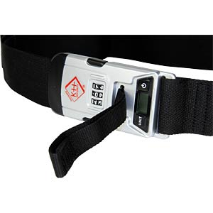 Case belt with built-in digital case scales KH SECURITY 370172