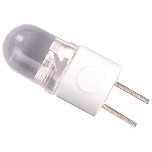LED pin-base lamp, 12 V/DC, white, EEC n.a. GOOBAY 30245