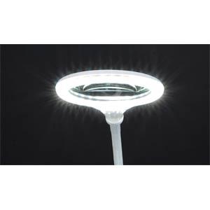 Lupenleuchte, LED, Ø 100 mm Echtglaslinse, 3 Dioptrien FREI