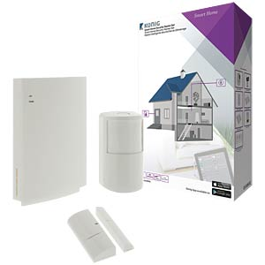 Smart-Home-Security-Starter-Set KÖNIG SAS-CLALARM05