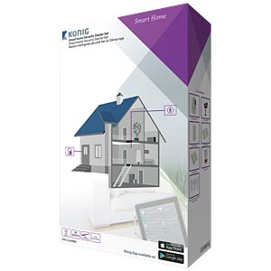 Smart home security starter set KÖNIG SAS-CLALARM05