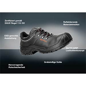 Safety Shoe  Low ESD S3, size. 48 ELTEN 726841