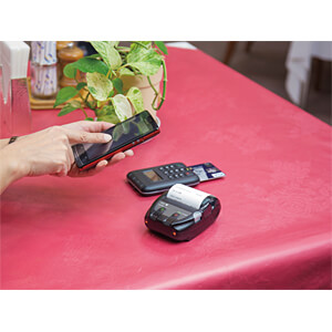 mobiler Labeldrucker, USB & Bluetooth SEIKO INSTRUMENTS 22402110