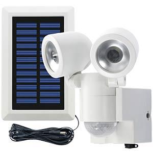 LED-Solarleuchte, Strahler, mit Bewegungsmelder, weiß, IP44 GEV 000841