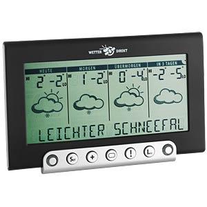WETTERdirekt Funk-Wetterstation Tempesta 300 TFA DOSTMANN 35.5050