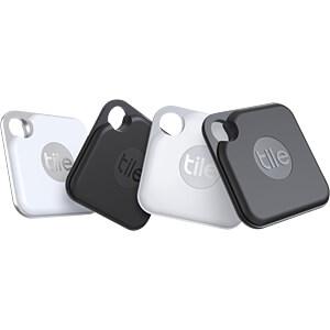 TILE RE-20004 - Tile Bluetooth Tracker Pro je 2x schwarz & weiß