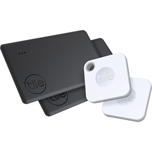 TILE RE-22004 - Tile Bluetooth Tracker Mate+ & Slim 2 (4-pack)