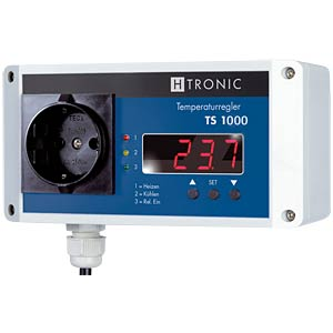 Temperaturschalter -99...+850 °C, Wandmontage H-TRONIC 1114485