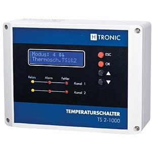 Temperaturschalter, 2-Kanal H-TRONIC 1114490