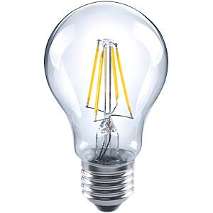 LED-Lampe E27, 5 W, 640 lm, 2700 K, Filament TELESOUND 37-36706