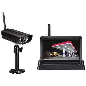 Wireless surveillance system with LAN VELLEMAN CCTVSETW1