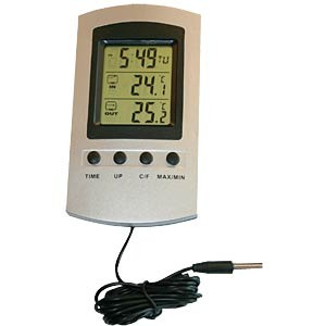 Electronic max./min. thermometer — 3-segment VENTUS WA135