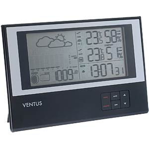 Wireless weather station with minimalist design VENTUS W636