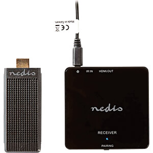 Kit HDMI sans fil, 1080p, 5 GHz, 30 m, dongle portable NEDIS VTRA3411BK