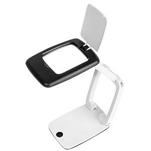 Tischlupe Pocket mit LED-Licht WEDO 271 75101