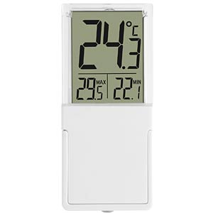 Vista digital window and indoor thermometer TFA DOSTMANN 30.1030
