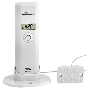 Temp.-/humidity transmitter with water detector TFA DOSTMANN 30.3305.02