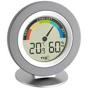 """Cosy"" Digitales Thermo-Hygrometer TFA DOSTMANN 30.5019"