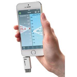 Thermo-Hygrometer für Smartphones SMARTHY TFA DOSTMANN 30.5035.02