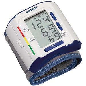 Blood pressure monitor for the wrist WEINBERGER 43730