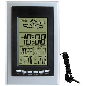 Weather station with outdoor sensor VELLEMAN WS8706