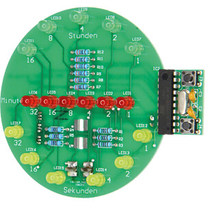 Binary Clock, soldering kit for USB ( Powerbank oder Port) SOL-EXPERT 76334