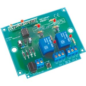 Kit: 2-channel RF code lock receiver VELLEMAN K8057