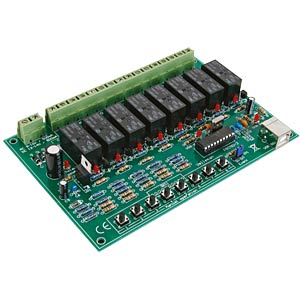 Kit: 8-channel USB relay card VELLEMAN K8090