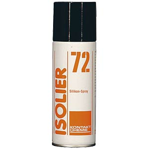 Insulation 72, 200 ml — silicon oil spray, highly dosed CRC-KONTAKTCHEMIE 735 09