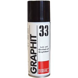 Graphite 33, 200 ml — graphite-based conductive paint CRC-KONTAKTCHEMIE 760 09