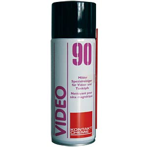 Video 90, 200 ml — video and magnetic head cleaner CRC-KONTAKTCHEMIE 723 09