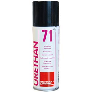 Urethane 71, 200 ml — protective and insulating varnish CRC-KONTAKTCHEMIE 750 09