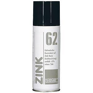 Rostschutzfarbe, Zink 62, 200 ml, Spraydose, Zink CRC-KONTAKTCHEMIE 765 09