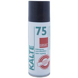 Refrigerant 75, 200 ml — non-flammable, down to -52 °C CRC-KONTAKTCHEMIE 844 09