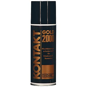 Contact Gold 2000, 200 ml — contact lubricant CRC-KONTAKTCHEMIE 825 09