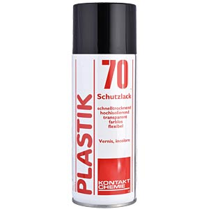 Plastic 70, 200 ml — protective and insulating varnish CRC-KONTAKTCHEMIE 743 09