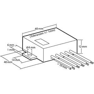 Universal Verstärker 3,5W, 4,5-12V KEMO M031N