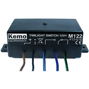 Twilight switch 12 V/DC KEMO M122