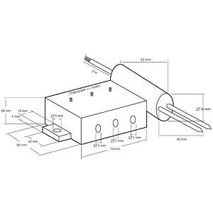 Grondvochtigheidssensor 12 V/DC KEMO M173