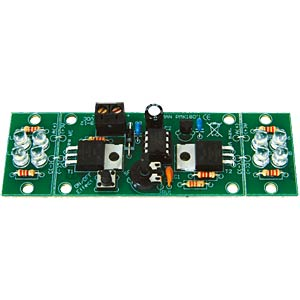 Bausatz: 2-Kanal Hi-Power LED-Blinker VELLEMAN MK180