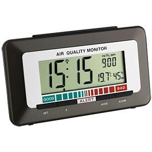 Funkwecker mit Luftqualitätsmonitor TFA DOSTMANN 60.2527.10